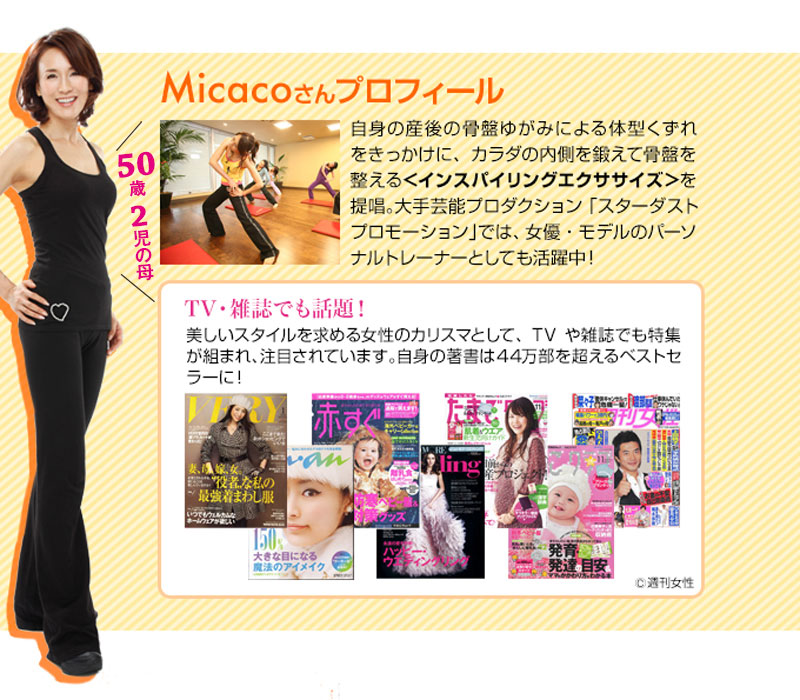 Micaco ミカコ インスパイリングシェイプ 骨盤EMSパッド