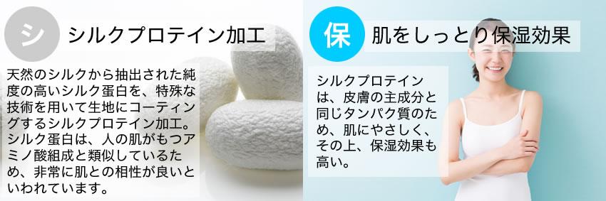 エクラン セミロングブラジャーに使われている「シルクプロテイン」とは